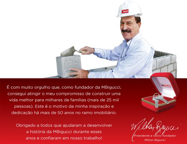 Confira a trajetória de sucesso do empresário Milton Bigucci